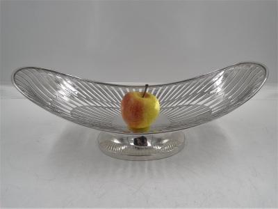 Pronkstuk / Fruitschaal 925 zilver