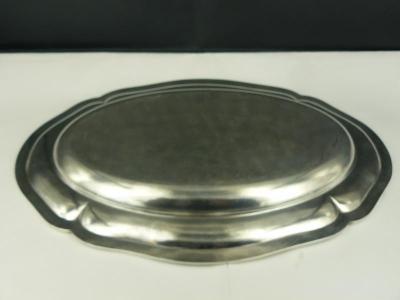 Zilveren serveerschaal
