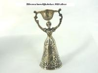 Zilveren miniatuur huwelijksbeker