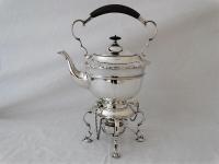 Engelse zilveren Bouilloire, Londen 1907