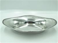Zilveren broodschaal, 31,5 cm