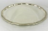 Zilveren serveerschaal / dienblad,