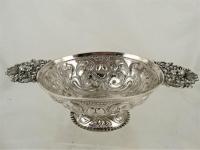Friese zilveren brandewijnkom 1746, Leeuwarden